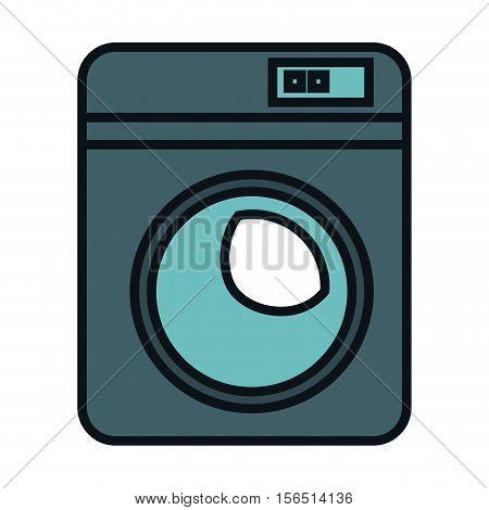 wash machine isolated icon vector illustration design