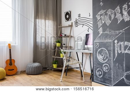Room With Music Inspired Design