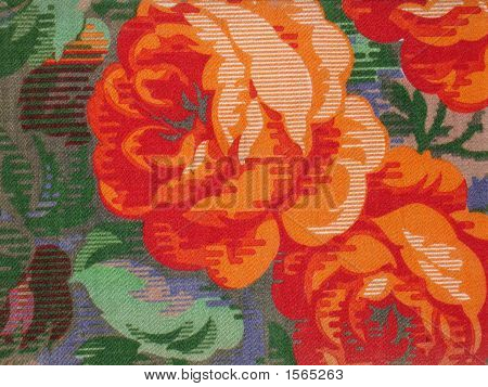Pattern Fabric: Roses