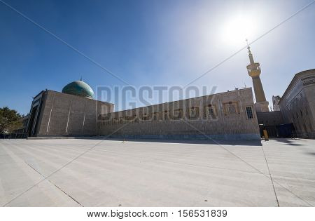 Mausoleum of Ruhollah Khomeini in Tehran capital of Iran