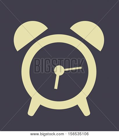 Digital Clock Icon Flat Design Modern Style - Digital Clock Logo Background Vector Illustration Stock