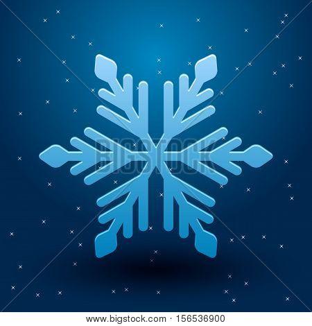Vector Snowflake.