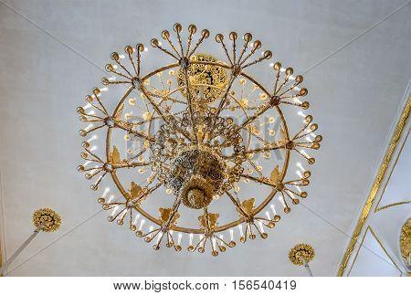 Armorial Hall, Winter Palace, Hermitage Museum, St. Petersburg, Russia