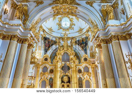 Grand Church Of The Winter Palace, Hermitage Museum, St. Petersburg