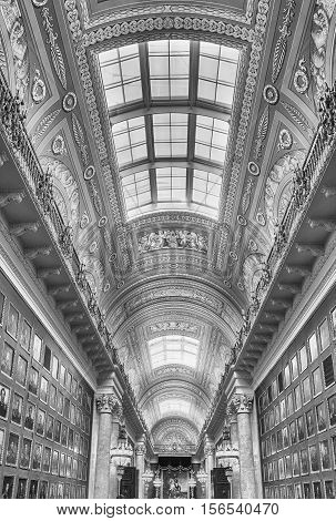 Interior Of The Winter Palace, Hermitage Museum, St. Petersburg, Russia