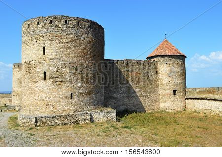 Ackerman medieval fortress in the city of Belgorod-Dniester. A monument of history and urban planning XIII-XV centuries.