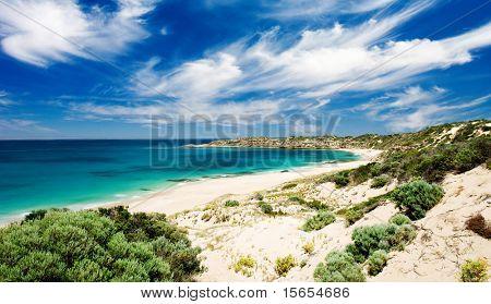 Butlers Beach on the Yorke Peninsula, South Australia