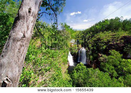Scenic waterfalls in Northern Australia