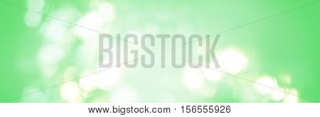Abstract Background Defocused Light Green Colors