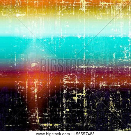 Distressed texture with ragged grunge overlay. Wrinkled background or backdrop with different color patterns: yellow (beige); blue; red (orange); purple (violet); black; white