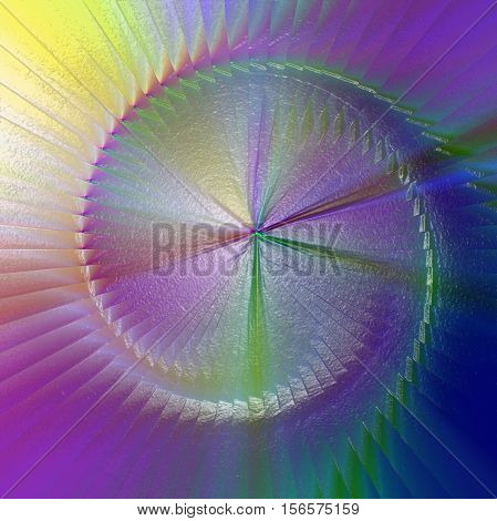 Abstract coloring background of the abstract gradient with visual illusion and plastic wrap effects,good for your project design