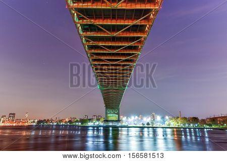 Triboro/rfk Bridge In New York City