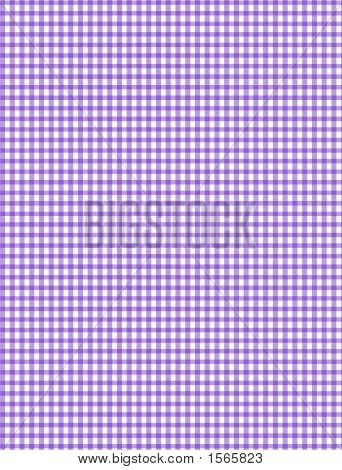 Pruple And White Plaid Background, Background Illustration