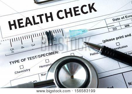 HEALTH CHECK Digital Health Check Healthcare assessment, check, checkup, concepts