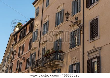 the Spanish Steps in the Heart of Rome Italy