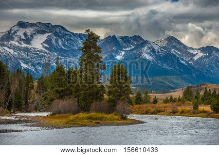 Salmon River Lower Stanley Idaho