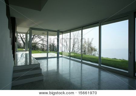 modern house in switzerland