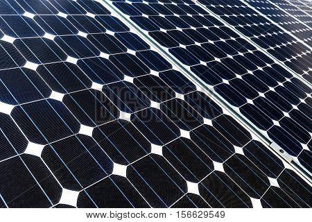 photovoltaic panels, alternative electricity source - selective focus, copy space