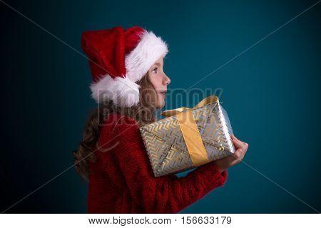 secret magic chtistmas gift girl