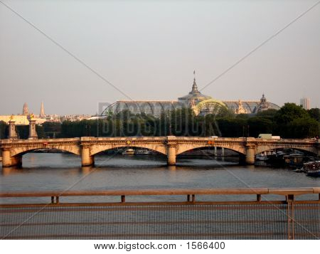 Bridge Of Alexander At Sunset