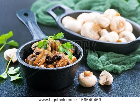 Fried Mushrooms