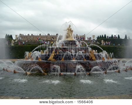Fountain In Versailles
