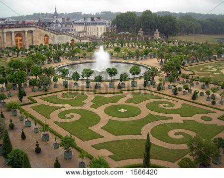 Gardens In Versailles