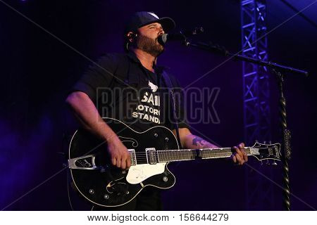 LAKE WALES, FL-NOV 5: Randy Houser performs at the CountryFlo Music and Camping Festival on November 5, 2016 in Lake Wales, Florida.