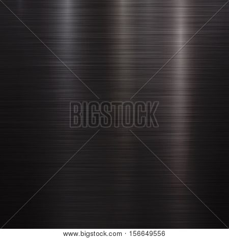Black Metal abstract technology background with polished, brushed texture, chrome, silver, steel, aluminum for design concepts, web, prints, posters, interfaces. Vector illustration.