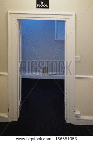 Door In Hotel Interior