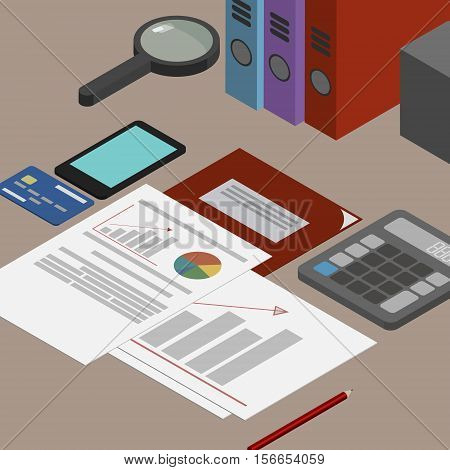 Auditor workplace accounting documents the analysis of these reports the analyst. Desktop isometrics
