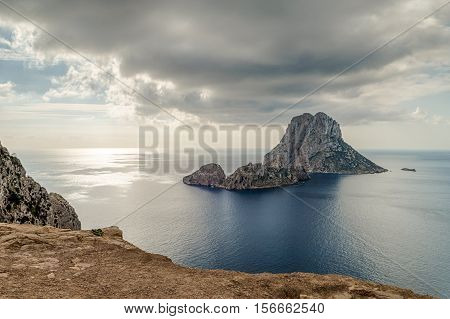 The magical island of Es Vedra off the coast of Ibiza
