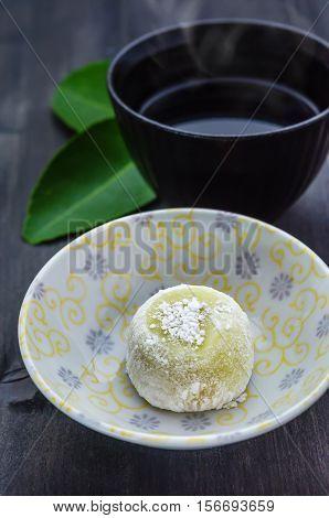 Daifuku Mochi Japanese Dessert