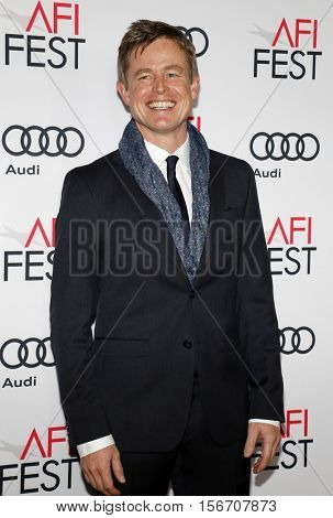 Caspar Phillipson at the AFI FEST 2016 Centerpiece Gala Screening of 'Jackie' held at the TCL Chinese Theatre in Hollywood, USA on November 14, 2016.