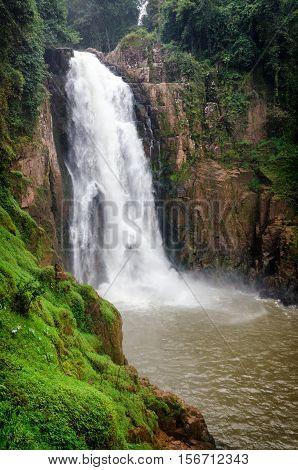 Nam Tok Heo Narok waterfall in Khao Yai National Park Thailand