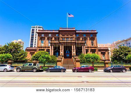 Flooad Mansion Nob Hill San Francisco H
