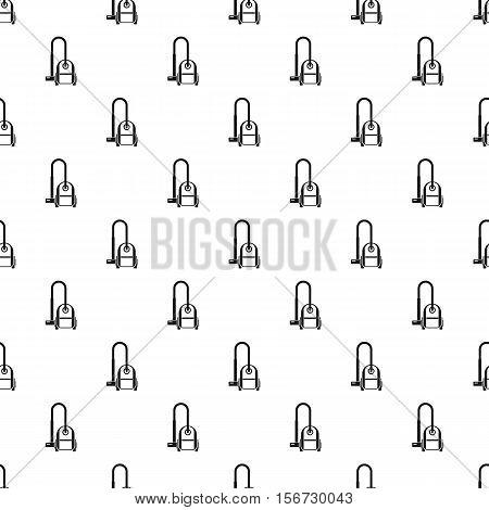 Vacuum cleaner pattern. Simple illustration of vacuum cleaner vector pattern for web