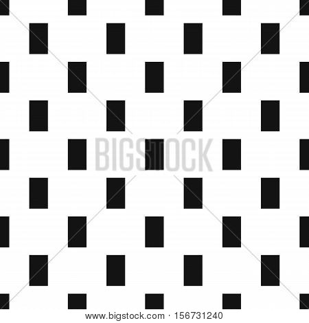 Rectangle pattern. Simple illustration of rectangle vector pattern for web