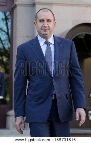 President-elect Rumen Radev