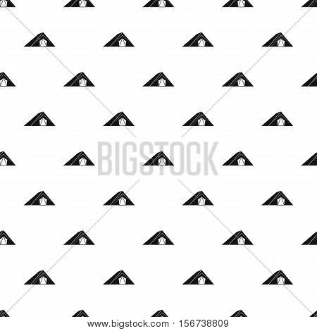 Tent pattern. Simple illustration of tent vector pattern for web