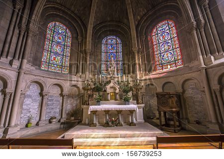 Collegiale Notre Dame, Poissy, Yvelines, France