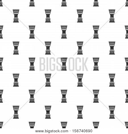Ethnic drum pattern. Simple illustration of ethnic drum vector pattern for web