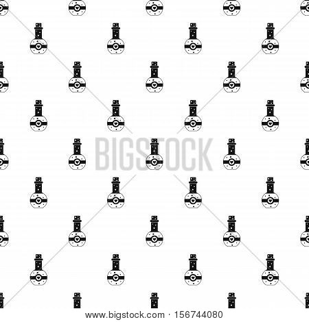 Flask of love elixir pattern. Simple illustration of flask of love elixir vector pattern for web