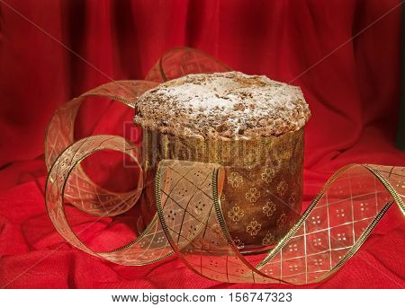 Panettone, Traditional Cake For Christmas And New Year.