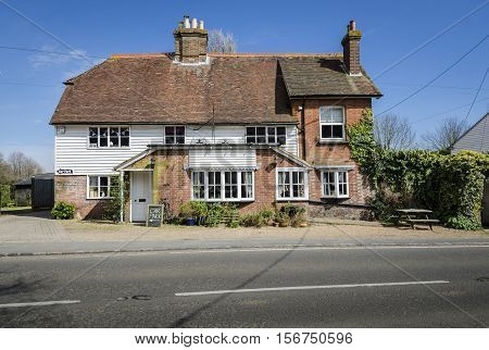 Local public house in a Kent village