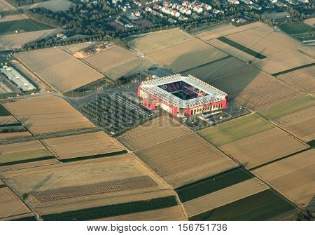 Aerial Of Coface Or Opel  Arena In Mayence