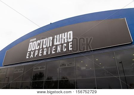 CARDIFF - NOVEMBER 12: Doctor Who Experience Cardiff Wales United kingdom November 12 2015 in Cardiff.