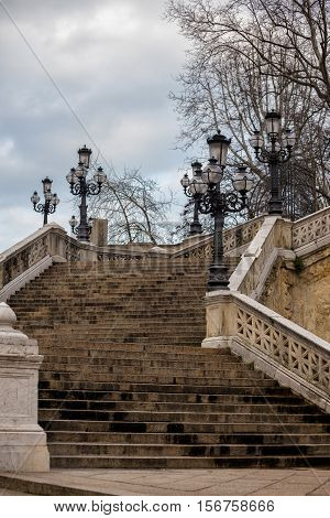 Old Beautiful Staircase