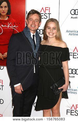 LOS ANGELES - NOV 14:  Caspar Phillipson, daughter at the