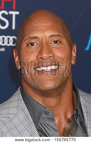 LOS ANGELES - NOV 14:  Dwayne Johnson at the